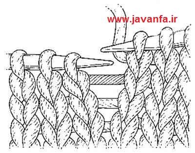 آموزش بافت شال گردنی, آموزش بافت شال گردن مردانه