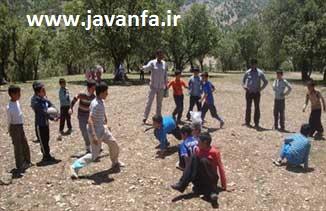 معرفی و آموزش بازی محلی والیبال کتکی