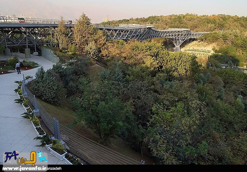 پل طبیعت در تهران افتتاح شد - عکس مراسم
