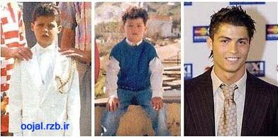 www.oojal.rzb.ir -عکس هاى بچگى فوتبالیست هاى معروف دنیا