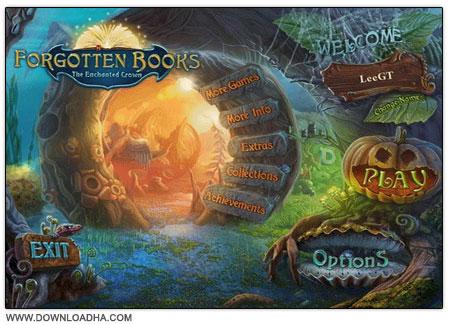 دانلود بازی فکری کتاب های فراموش شده Forgotten Books: The Enchanted Crown