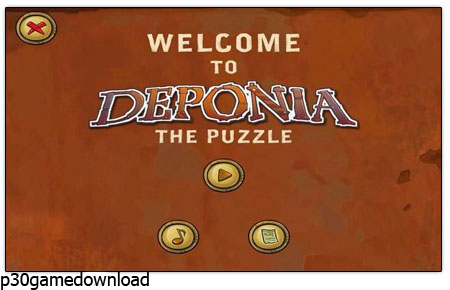 دانلود بازی کم حجم پازل Deponia: The Puzzle