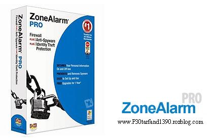 دانلود فايروال و نرم افزار ضد جاسوسي Zone Alarm