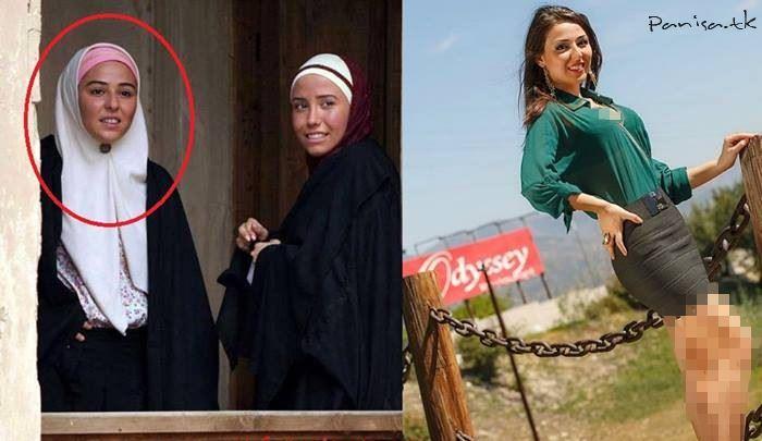 عکس های برهنه بازیگر زن سریال کلاه پهلوی
