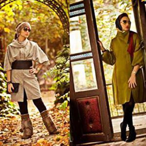 مدل های جدید مانتو و لباس