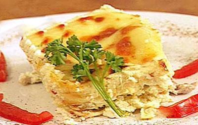 دستور پخت و طرز تهیه لازانیا با مرغ
