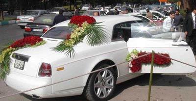 جدیدترین مدلهای ماشین عروس ایرانی