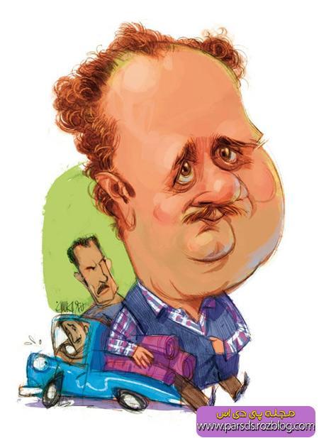 کاریکاتور هومن برق نورد