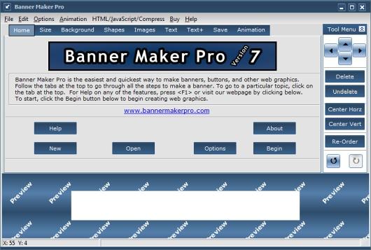 فضای نرم افزار banner maker pro