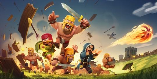 تبلیغ بازرگانی (تریلر) بازی Clash of Clans