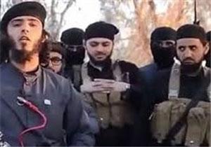 پخش اعلامیههای داعش در خیابانهای لندن