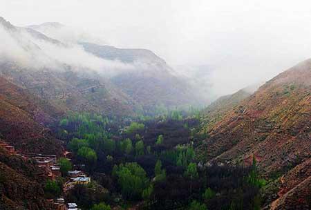 تصاویری از زیباییهای روستای اسفیدان خراسان