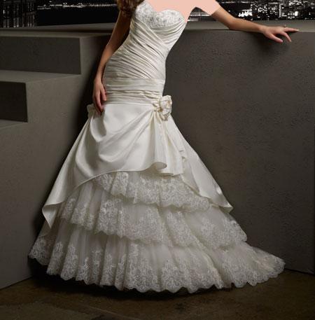 شیک ترین لباس عروس های2014