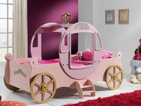 دکوراسیون تخت خواب بچه ها 2014