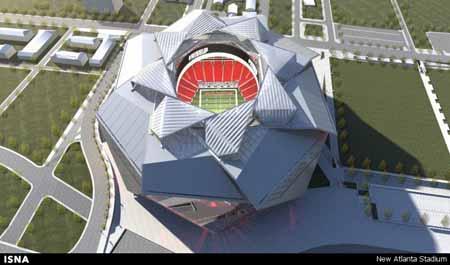 طراحی استادیوم با سقف کاهوییشکل+تصاویر
