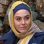 عکس های آزاده زارعی در برنامه سینما گلخانه