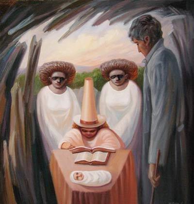 عکس نقاشی های قشنگ چهره در چهره زیبا و جدید مرداد 92