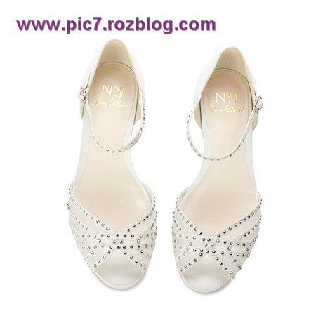 مدل کفش عروس قشنگ جدید کفش عروس زیبا 2013