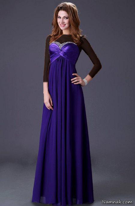 مدل لباس شب زنانه قشنگ و جدید پاییز 92