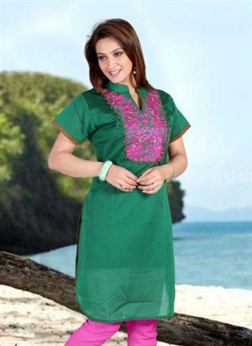 عکس مدل سارافون زنانه جدید در رنگ های شاد پاییز 92