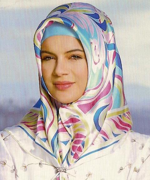 روسری قشنگ