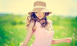 والپیپر دختر خوشگل در مزرعه