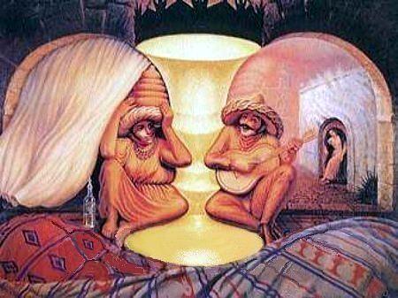 عکس های فوق العاده زیبای خطای چشم