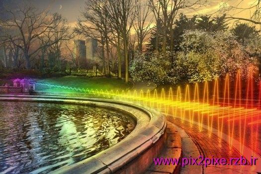 تصاویر زیبای امواج Wi-Fi