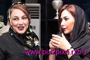 Anna Nemati and Bakhtiari Behnoush Beauty Clinic Opening Newsha Zeighami + photos