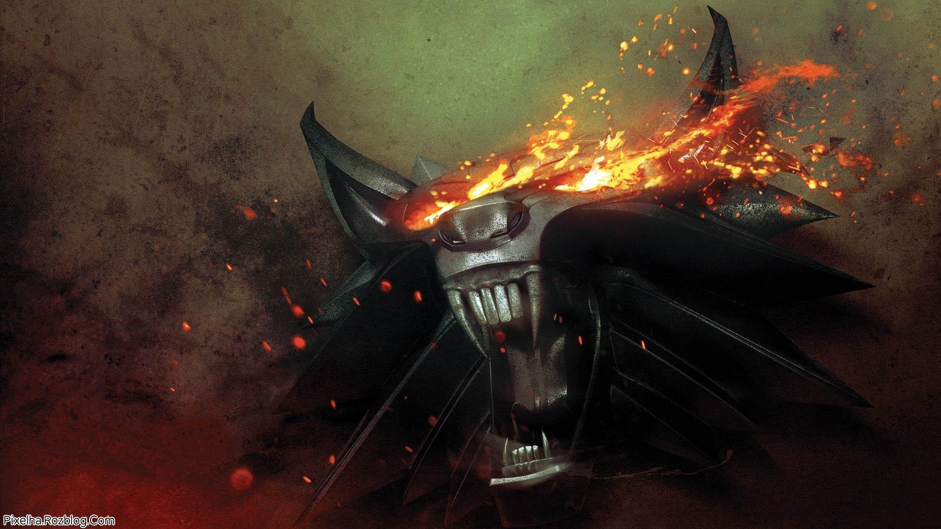 گرگ آهنی با چشمان شعله ور