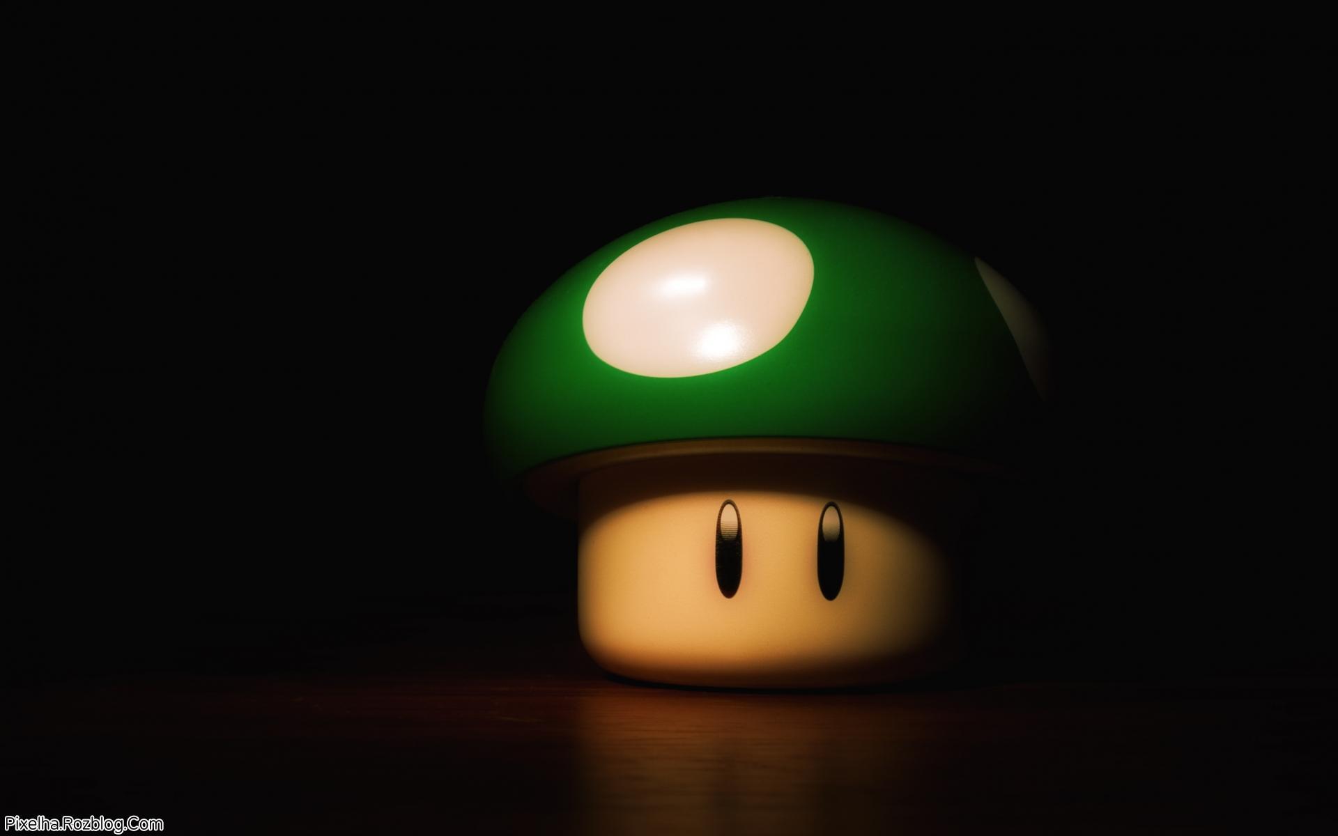 قارچ سه بعدی سبز
