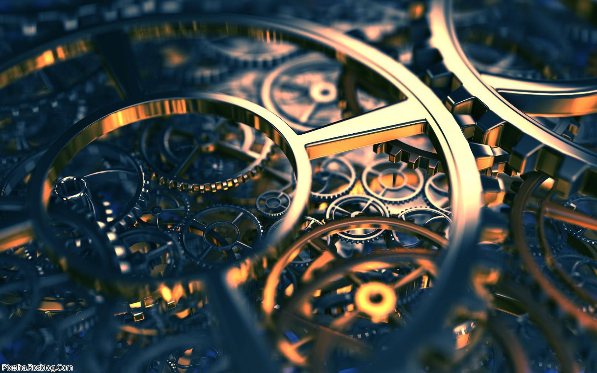 چرخ دنده های طلایی