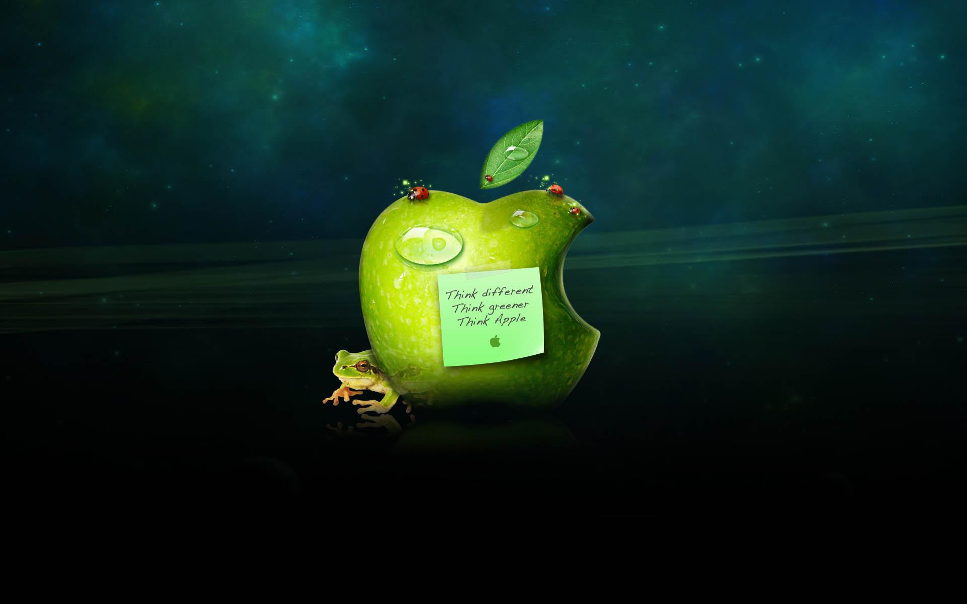 طرح متفاوت سیب شرکت اپل