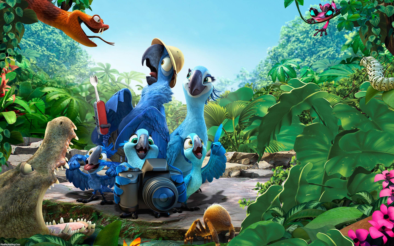 والپیپر انیمیشن rio 2 2014