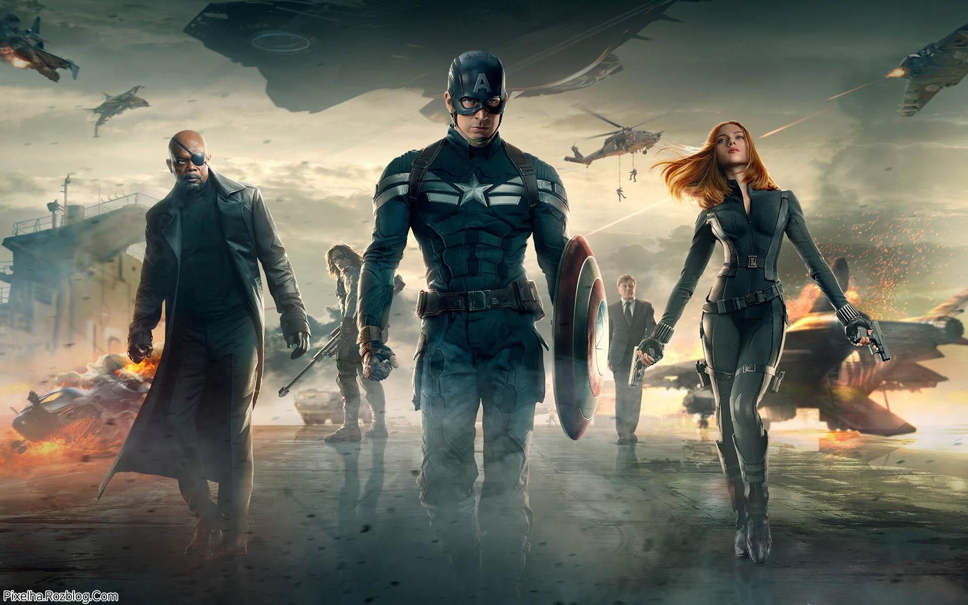 والپیپر فیلم Captain America The Winter Soldier