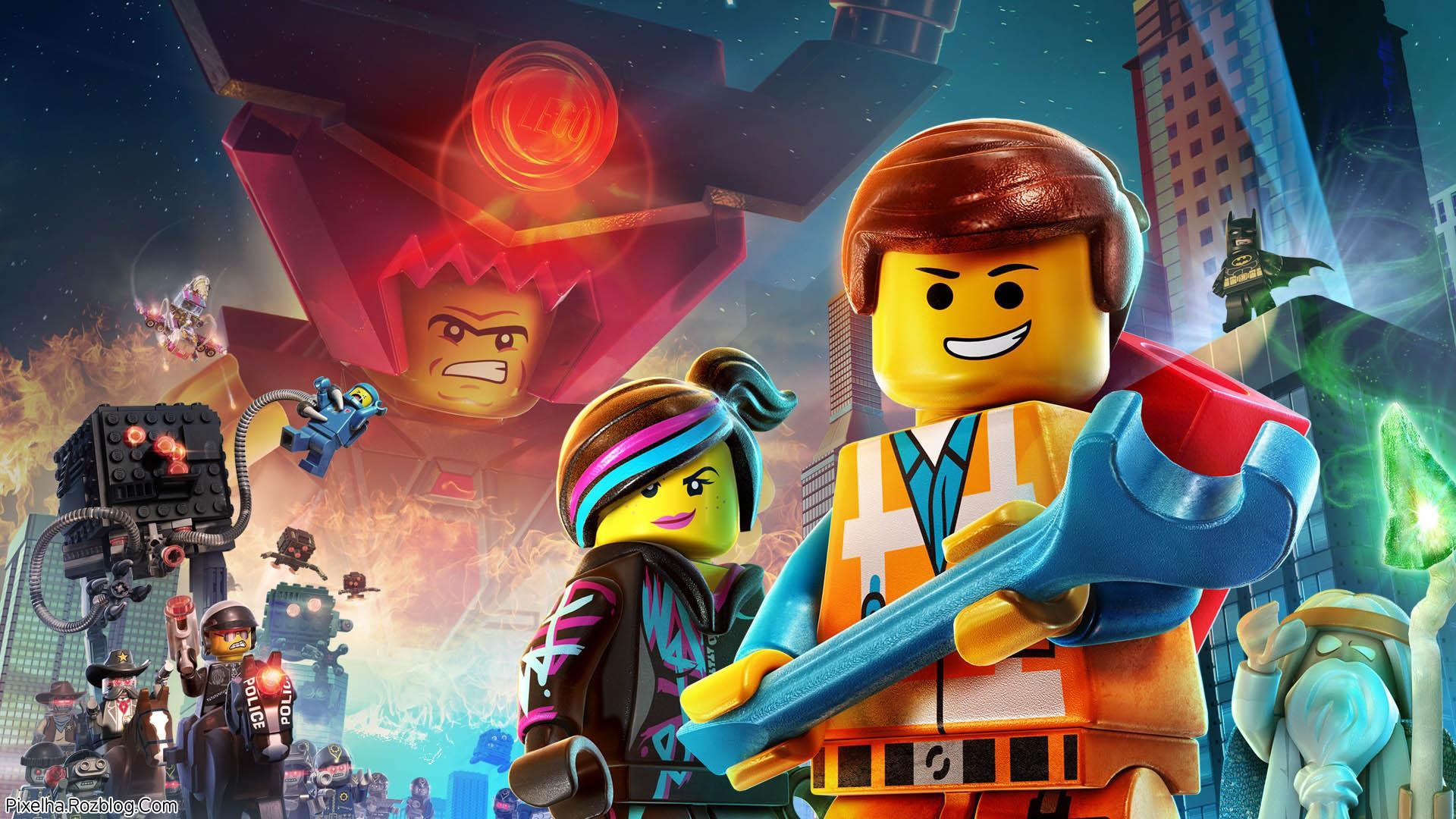 والپیپر انیمیشن The Lego