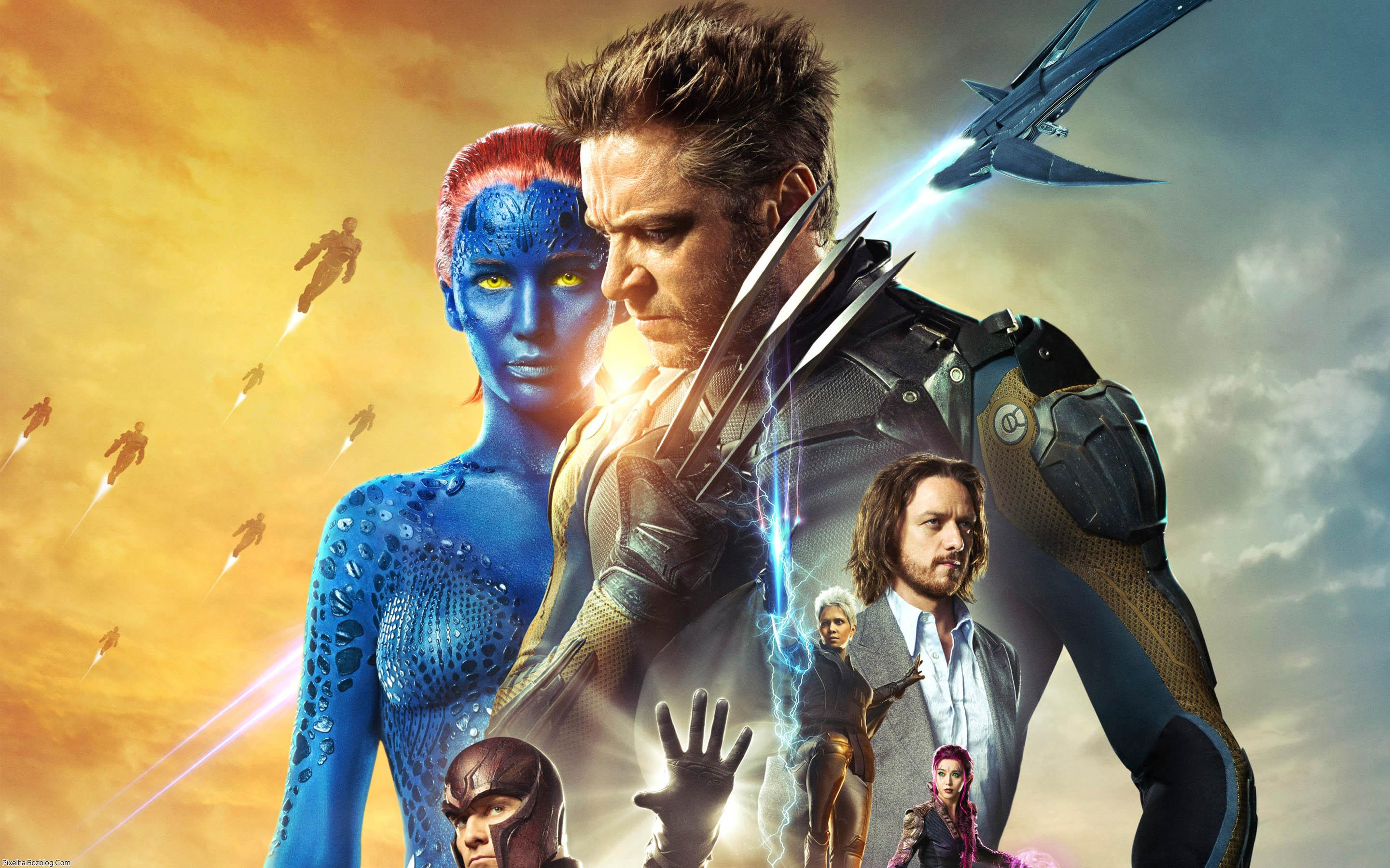 والپیپر فیلم X-men days of future past