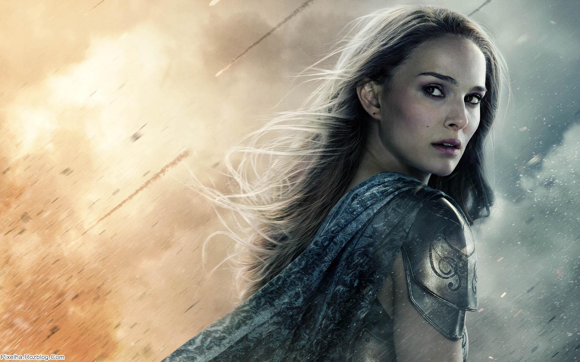 والپیپر Natalie Portman بازیگر فیلم Thor 2