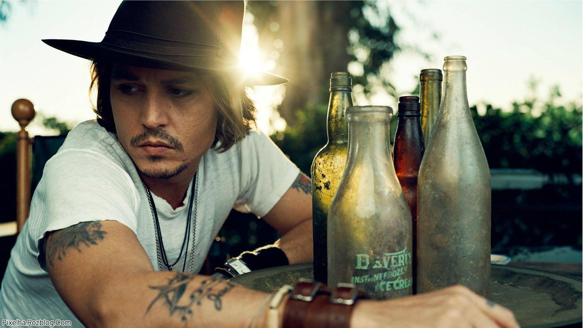 عکس Johnny Depp بازیگر جذاب هالیوود
