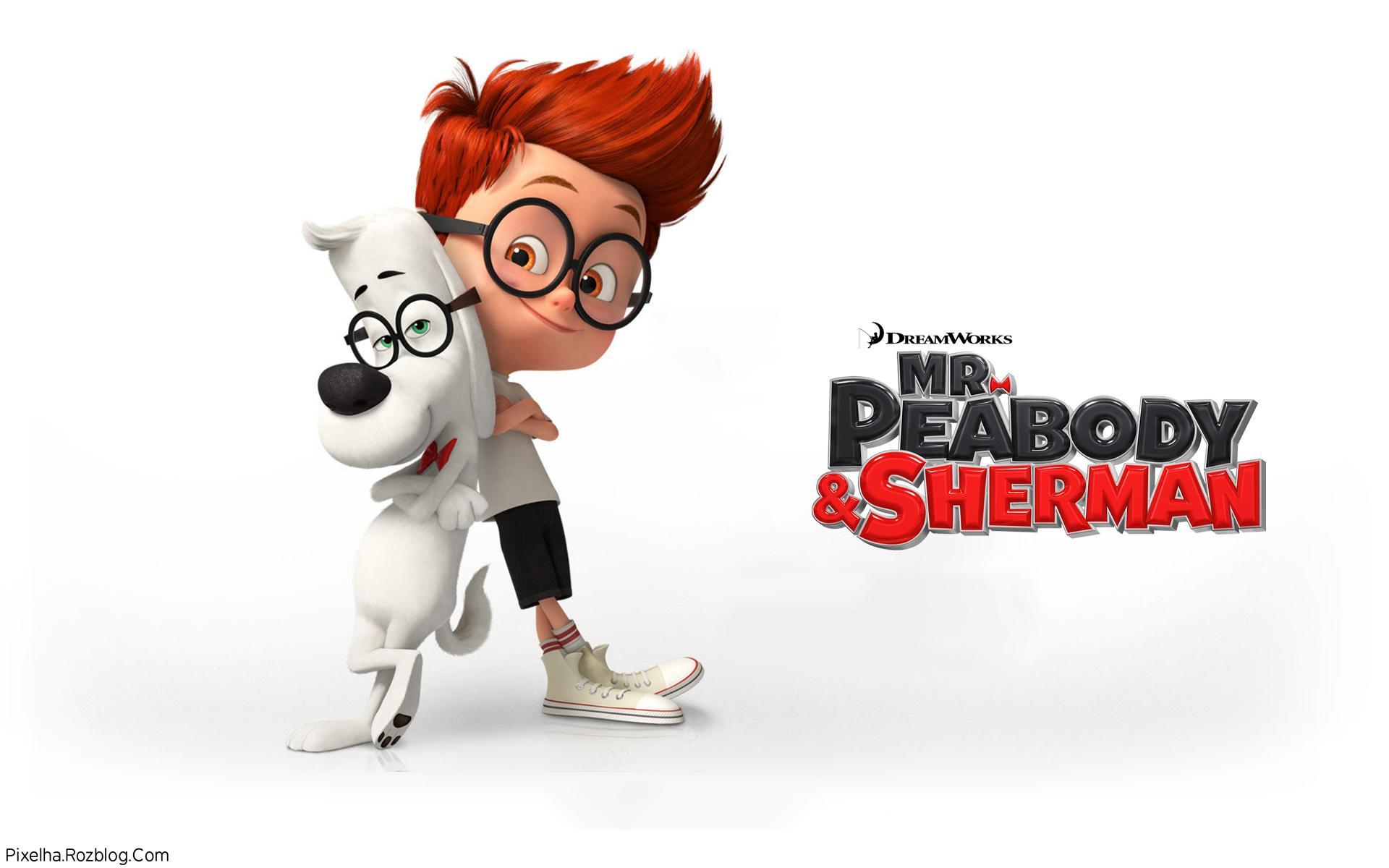 والپیپر انیمیشن Mr Peabody And Sherman 2014