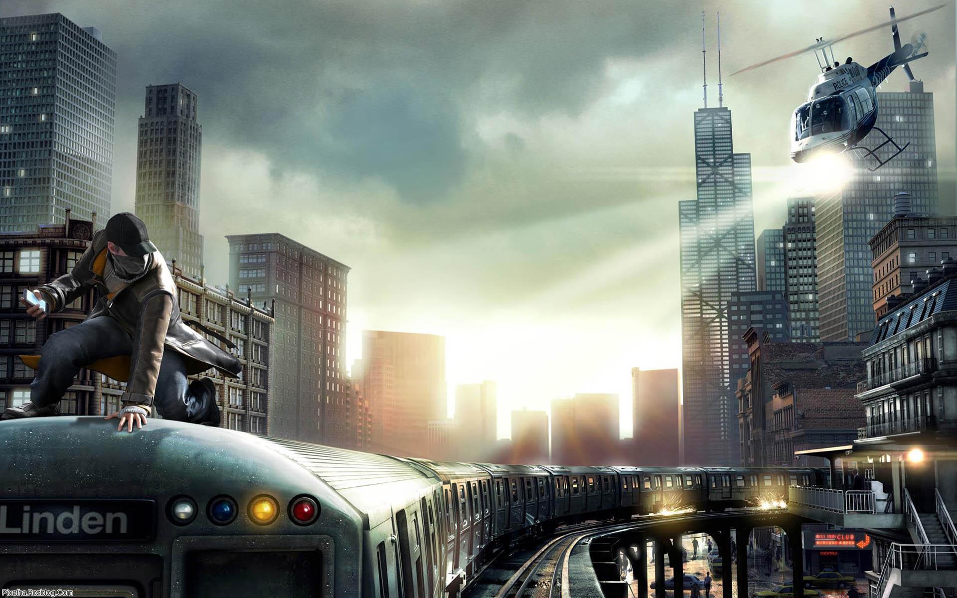 والپیپر بازی Watch Dogs برای PS4