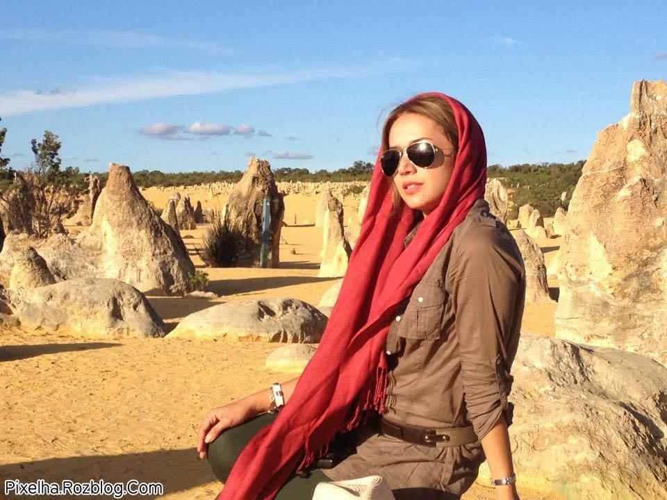 عکس بسیار زیبا از شبنم قلی خانی در استرالیا