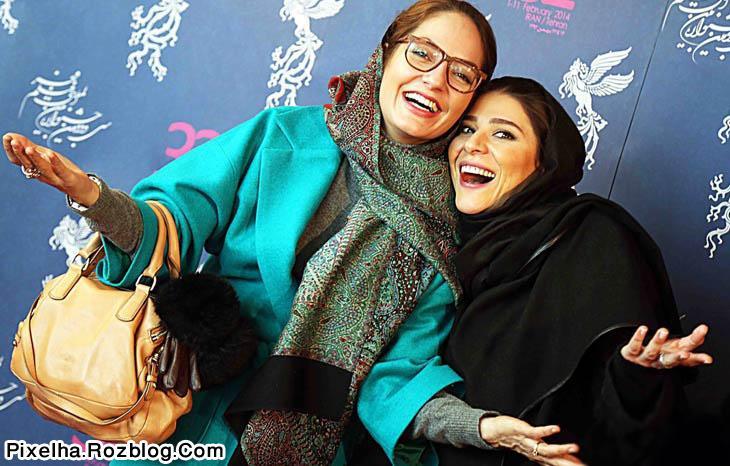 مهناز افشار و سحر دولتشاهی در جشنواره فیلم فجر
