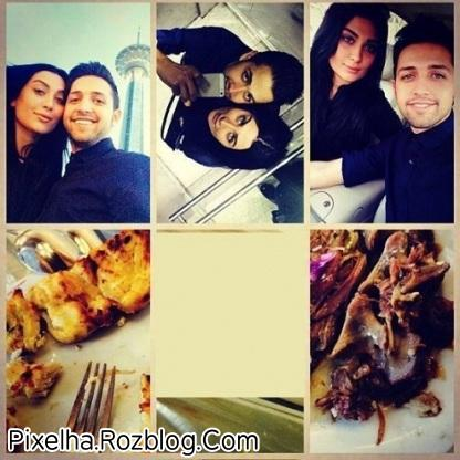 عکس محسن افشانی و همسرش در اینستاگرام