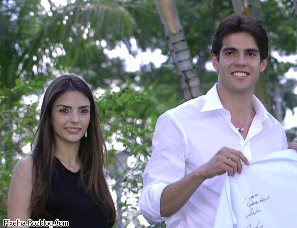 کاکا و همسرش کارولاین