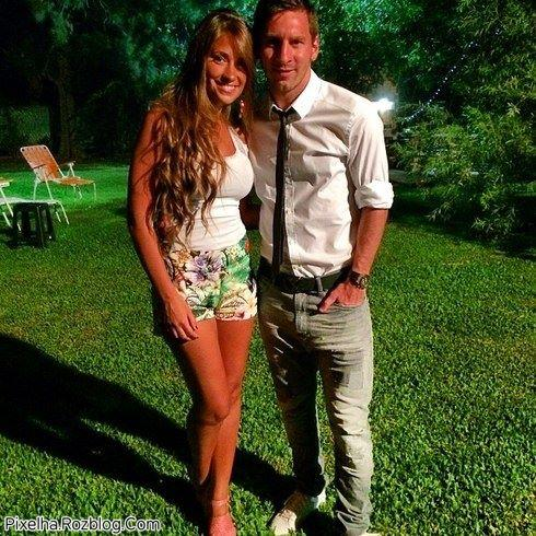 عکس جدید مسی و همسرش