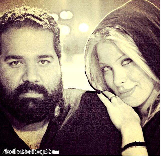عکس رضا صادقی در کنار همسرش