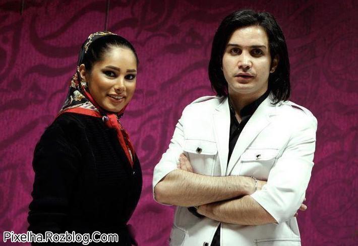 عکس جدید محسن یگانه و همسرش