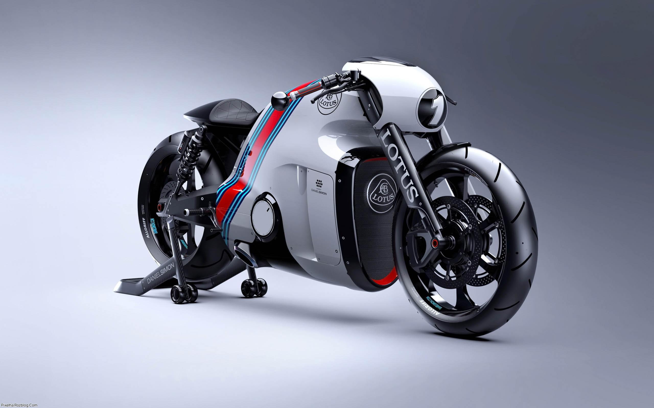 موتور مدل lotus c 01