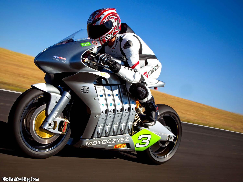 موتور مسابقه ایی بسیار زیبا